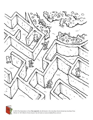 Labyrinth_coloring sheet_2