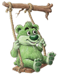Lima Bear on Swing Welcome_150 high_copy-right