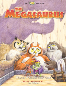 Megasaurus_front cover