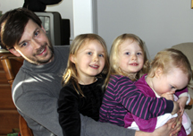 PeterWeck&daughters