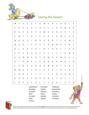 The Labyrinth Word Search